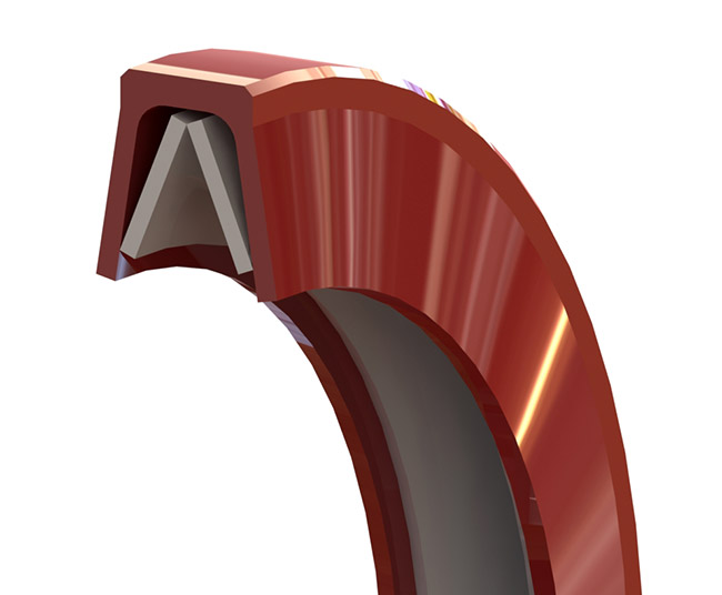Belliville Spring Engineered Static Face Seal