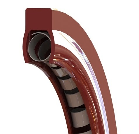 Helical Spring Engineered Static Face Seal