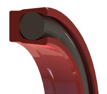 Elastomeric O-ring Rotary Seal